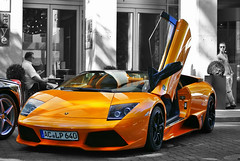 Murcilago LP640 Roadster (Raoul Automotive Photography) Tags: auto road door red bw italy orange white black sc car germany star hotel italian italia open sony parking tripod wide band convertible ferrari filter sound lp mm 1855 alpha dslr dusseldorf 50 dsseldorf lamborghini v8 hama dt v10 intercontinental 61 murcilago valet combo roadster v12 pl lambo 640 55200 cicular kenko 458 a230 polarisation mucielago lp640 lambodoor a230l