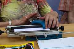 Machine à écrire en braille
