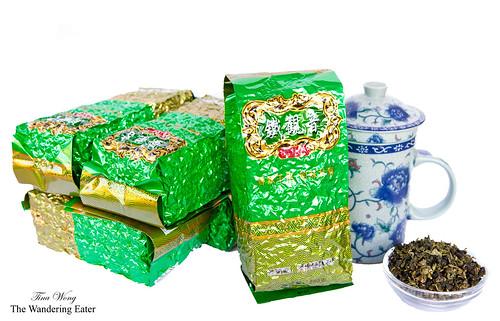 Iron Buddha tea (鐵觀音茶)