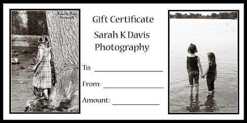 4x8 Gift Certificate