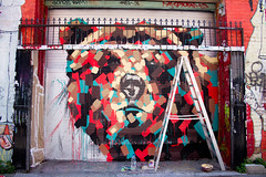 bear too (bhautik joshi) Tags: sf sanfrancisco california bear streetart alley mural workinprogress missiondistrict themission hasegawa sfist clarionalley bearmural 2011 bhautikjoshi chadhasegawa art:category=mural art:neighborhood=mission art:title=unknown art:description=none art:citycommission=no art:artist=chadhasegawa