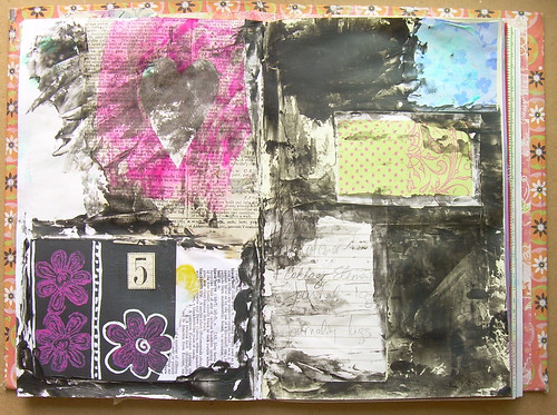 Mixed Media background pt.1