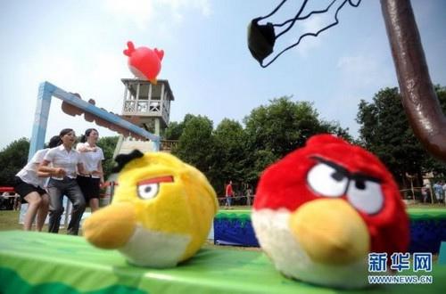 angry birds ya es real en un parque de atracciones chino 9