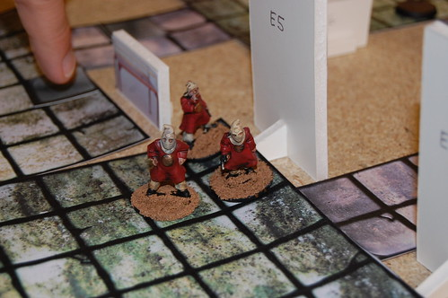 Cultists emerge from the sewer
