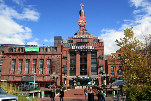 the Pratt Street Power Plant, repurposed in Baltimore's inner harbor (by: Wally Gobetz, creative commons license)