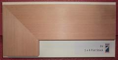 Fir - 1x4 Flat Stock