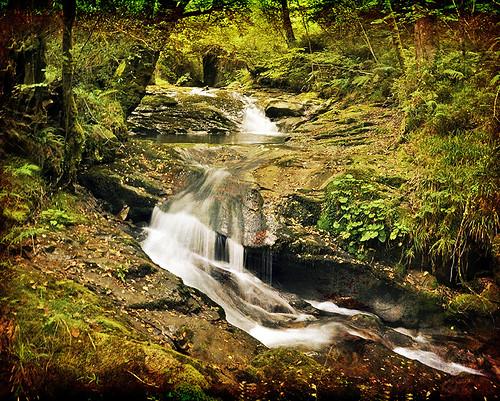 3ª Quedada  Piloña  2011 -  Serie Cascadas - Waterfalls series by Marco Antonio Losas