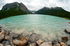 Lake Louise (Northwest dad) Tags: lake canada nikon fisheye louise 8mm d300 samyang prooptic