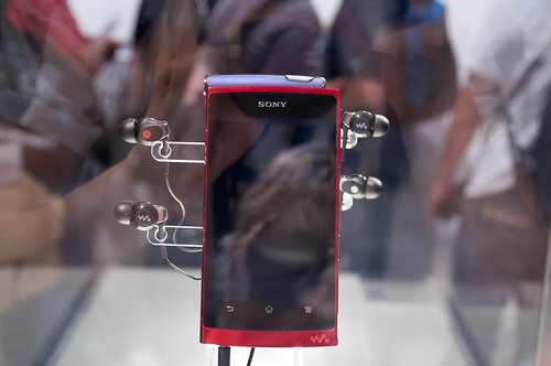 Sony Walkman with Android Prototype