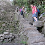 "Descent from Wayna Picchu <a style=""margin-left:10px; font-size:0.8em;"" href=""http://www.flickr.com/photos/14315427@N00/6128334382/"" target=""_blank"">@flickr</a>"