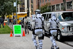 Total Recall 2012 (james.mannequindisplay) Tags: toronto movie costume actors accident police future bond total federal recall 2012