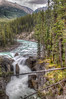 Sunwapta Falls (Fil.ippo) Tags: park panorama parco canada water landscape long exposure jasper falls filter national waterfalls nd acqua hdr filippo paesaggio nazionale sunwapta d5000
