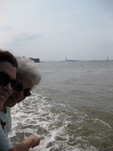 Me and Mom and Lady Liberty