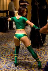 Black Orchid (macavitecas) Tags: costumes cosplay fantasy convention scifi dragoncon blackorchid killerinstinct