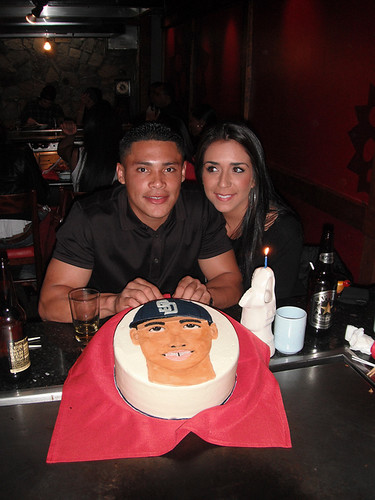 Everth Cabrera and my cake