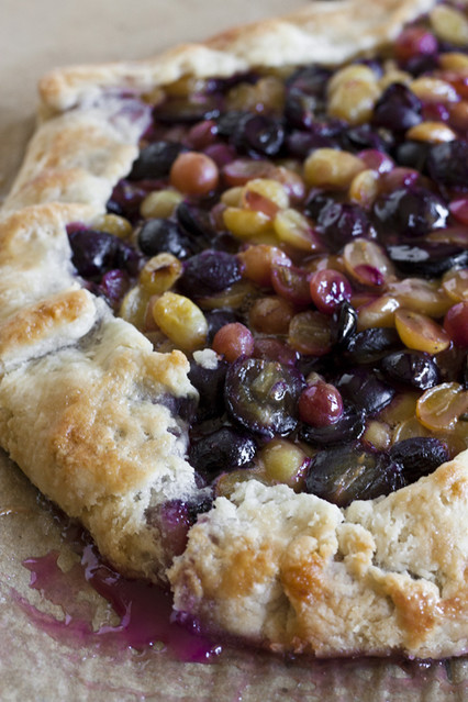... Garlic: Adventurous Eating Starts at Home: Grape & Lavender Galette