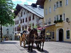 KITZBUHEL - AUSTRIA (Alviero41) Tags: austria kitzbuhel cavalli calesse alviero41