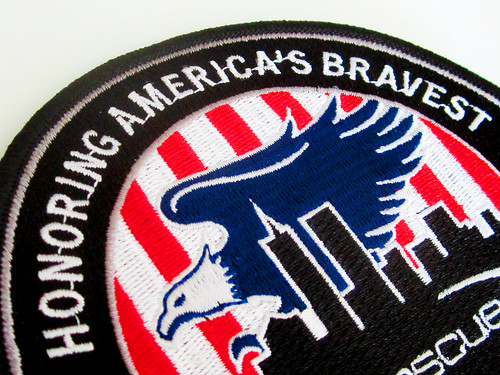 Embroidered 9/11 10th Anniversary Logo Patch
