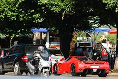 Ferrari Enzo (Lambo8) Tags: red horse car rouge switzerland photo hp italian nikon italia power suisse geneva d 8 s ferrari 200 enzo 28 af gt nikkor ge 80 genve f28 supercar ch 80200mm v12 80200 80mm 200mm afd d80 hypercar worldcars