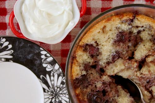 flipover cherry cake 5