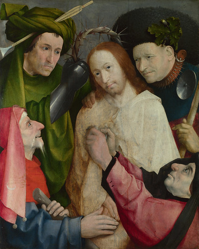 Hieronymus Bosch - Christ Mocked (The Crowning with Thorns) [c.1490-1500] by Gandalf's Gallery