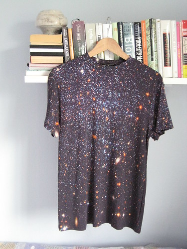 galaxy t-shirt by Christopher Kane
