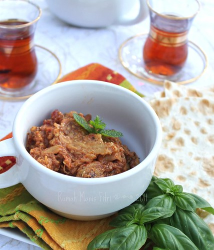 Mirza Ghasemi //Persian Eggplant Dip by Fitri D. // Rumah Manis