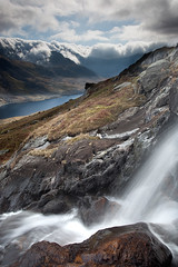 OGWEN VALLEY AND THE GLYDERS 2011  #2 (GOLDENORFE) Tags: mountains landscape stream waterfalls snowdonia northwales dragondaggerphoto dragondaggeraward