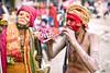 Freaks (PawelBienkowski) Tags: nepal sadhus maghmela ridibazaar