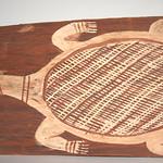 "<b>Turtle</b><br/> Jimmy Mijau-Mijau ""Turtle"" Painting, ca. 1950-1970 LFAC #2004:06:04<a href=""http://farm7.static.flickr.com/6187/6147704872_a2b2983fa9_o.jpg"" title=""High res"">∝</a>"