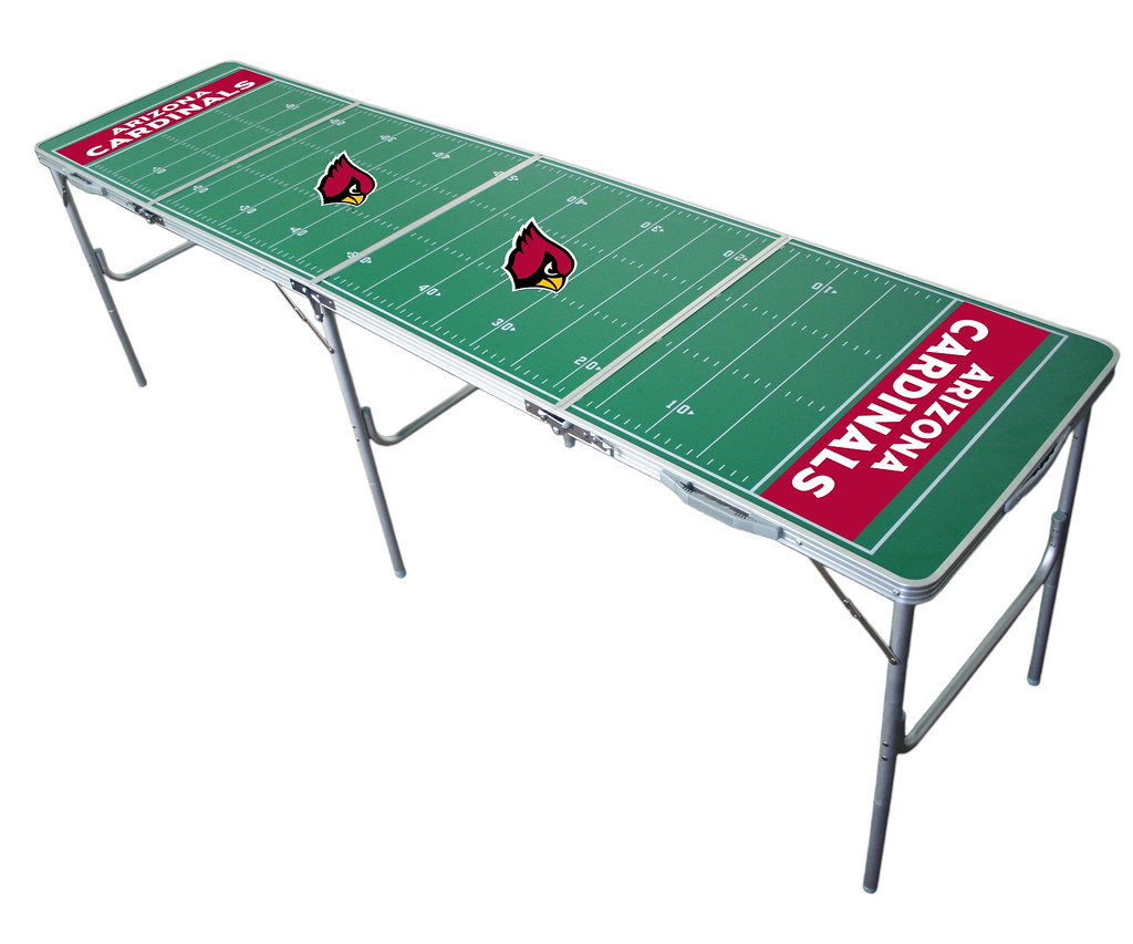 Arizona Cardinals Tailgating, Camping & Pong Table