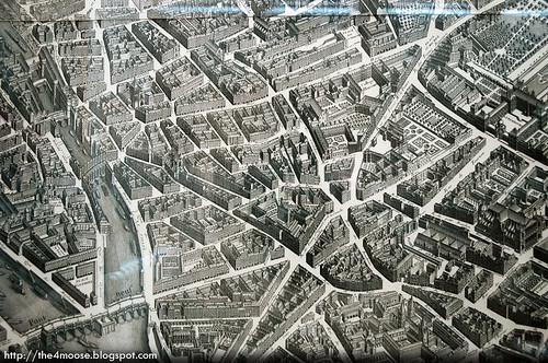 Hôtel des 3 Collèges - Turgot's Map of Paris