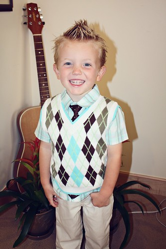 handsome Nate almost 3