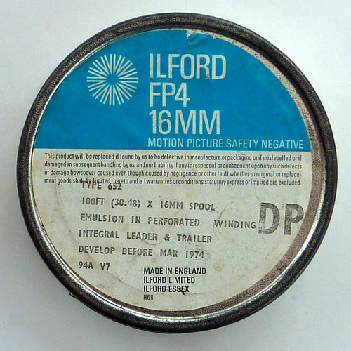 Ilford FP4 16mm film - develop before March 1974 by pho-Tony