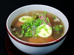 Thai Soup, Thai Suppe Tom Jued (thaieyes) Tags: cooking essen eating recipes thaifood kochen rezept thaicuisine thaisoup souprecipe thaisuppe thairezepte thailndischkochen tomjued supenrezepte