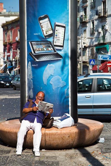 Naples. Reading