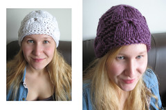 two in one (Softaccessories) Tags: white purple beanie
