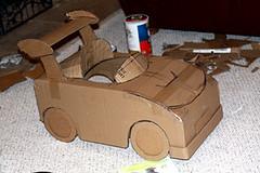 mario kart cardboard box (isewcute) Tags: cute diy handmade character cartoon mario halloweencostume cardboard videogame mariokart crafting craftster isewcute