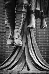 Angel of Victory (bruce...) Tags: blackandwhite bw statue vancouver ww1 gastown 2011 scottkelbyworldwidephotowalk wwpw 35mmf18g wwpw4 watterfrontstation