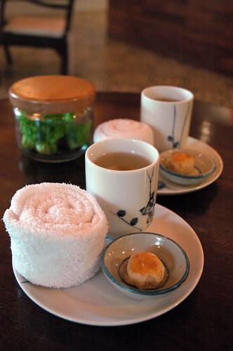 Raintree Spa - Tea and Snack