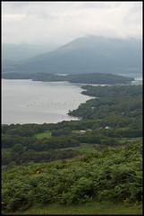 Balmaha from Conic Hill (toughsl) Tags: scotland lochlomond westhighlandway conichill drymentorowardennan