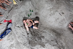 (Peter de Krom) Tags: beach beer heineken pit diggers nrc hoekvanholland hvh kuilengravers