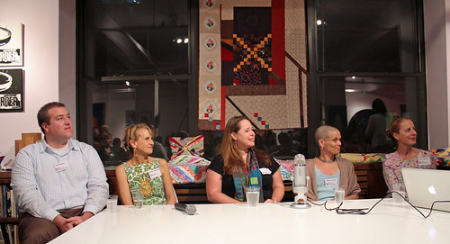 panel discussion on the Modern Quilting movement