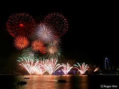 Happy Birthday Singapore! (Reggie Wan) Tags: city tourism singapore southeastasia cityscape fireworks n ndp marinabay marinacentre 2011 moderncity asiancity nationaldaycelebration sonya700 sonyalpha700 marinabaysingapore reggiewan gettyimagessingaporeq1