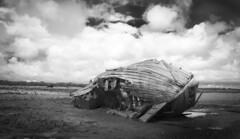 (Glen Parry Photography) Tags: uk seascape coast nikon britishisles britain ships shipwreck barrowinfurness pielisland d3000