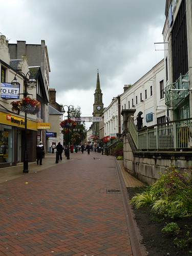 Town Centre Shopping, Falkirk