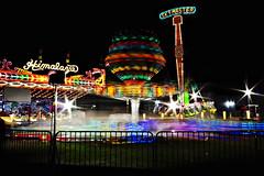 amusement (glassghost) Tags: longexposure lights lighttrails himalaya skymaster midwayrides