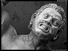 Demon (Anindya Roy Photography (catching up)) Tags: india heritage festival canon culture idol demon kolkata durgapuja westbengal kumartuli