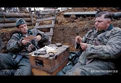 RB-2103 (Robert Bridgens) Tags: ss trench ww2 reenactment 222 panzer ksk warpeace mg42 stug k98 mg34 beltring stahlkrieger beltring2011