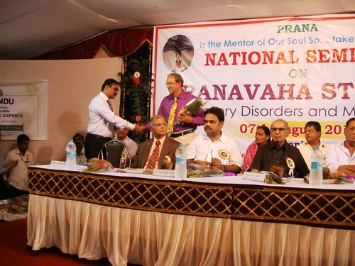 Felicitation of Dr.Avinash Lele